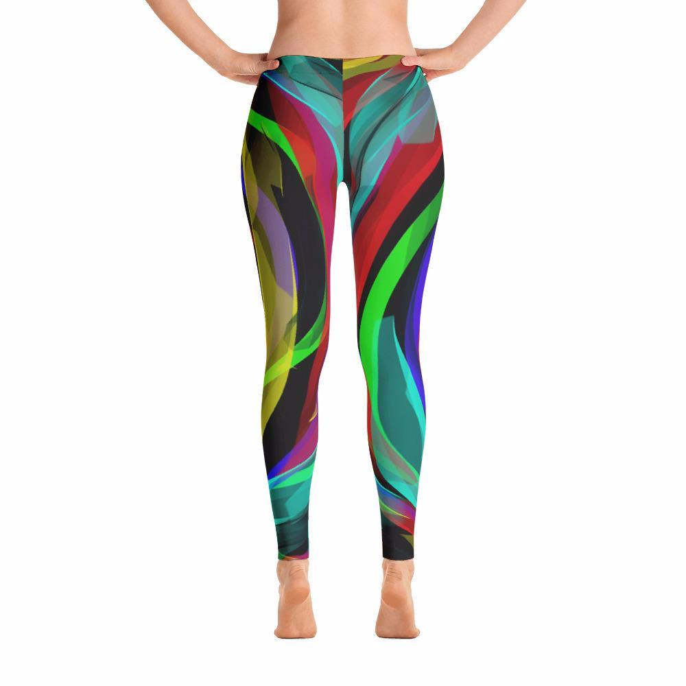 Infinity Ribbons iPlaid Leggings