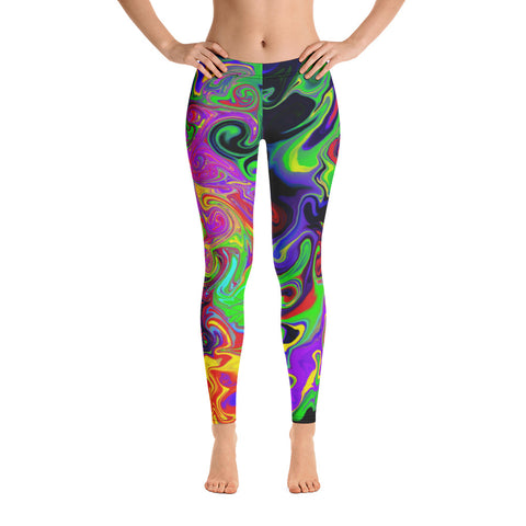 Ink Blob Leggings