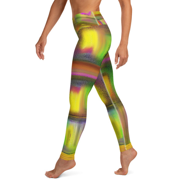 The Window to the Stars Yoga Leggings