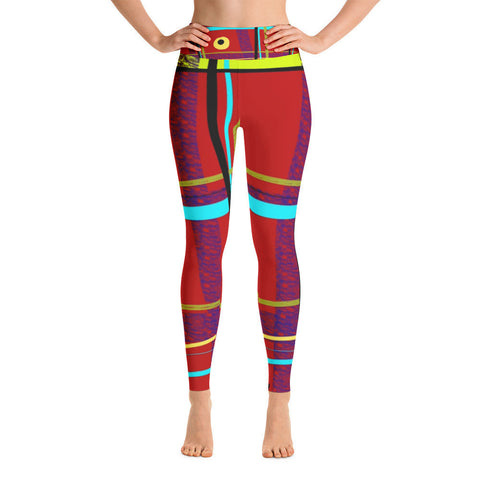 iPlaid Yoga Leggings by Susan Fielder Art were designed for a reason!