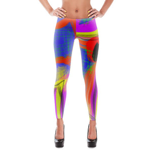 Pichorso Leggings by Susan Fielder Art