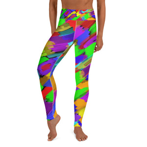 Pouring Rainbows Yoga Leggings