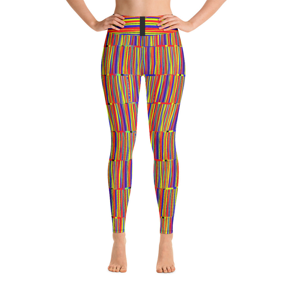 Striped to the Max Yoga Leggings