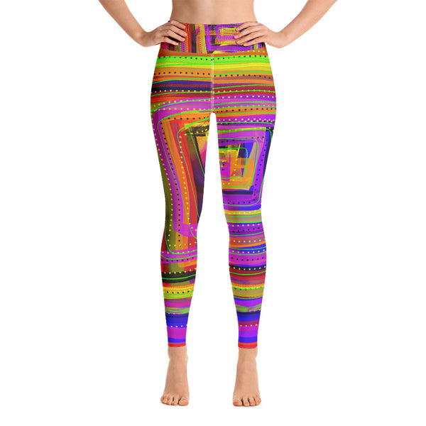 Happy Dance Yoga Leggings
