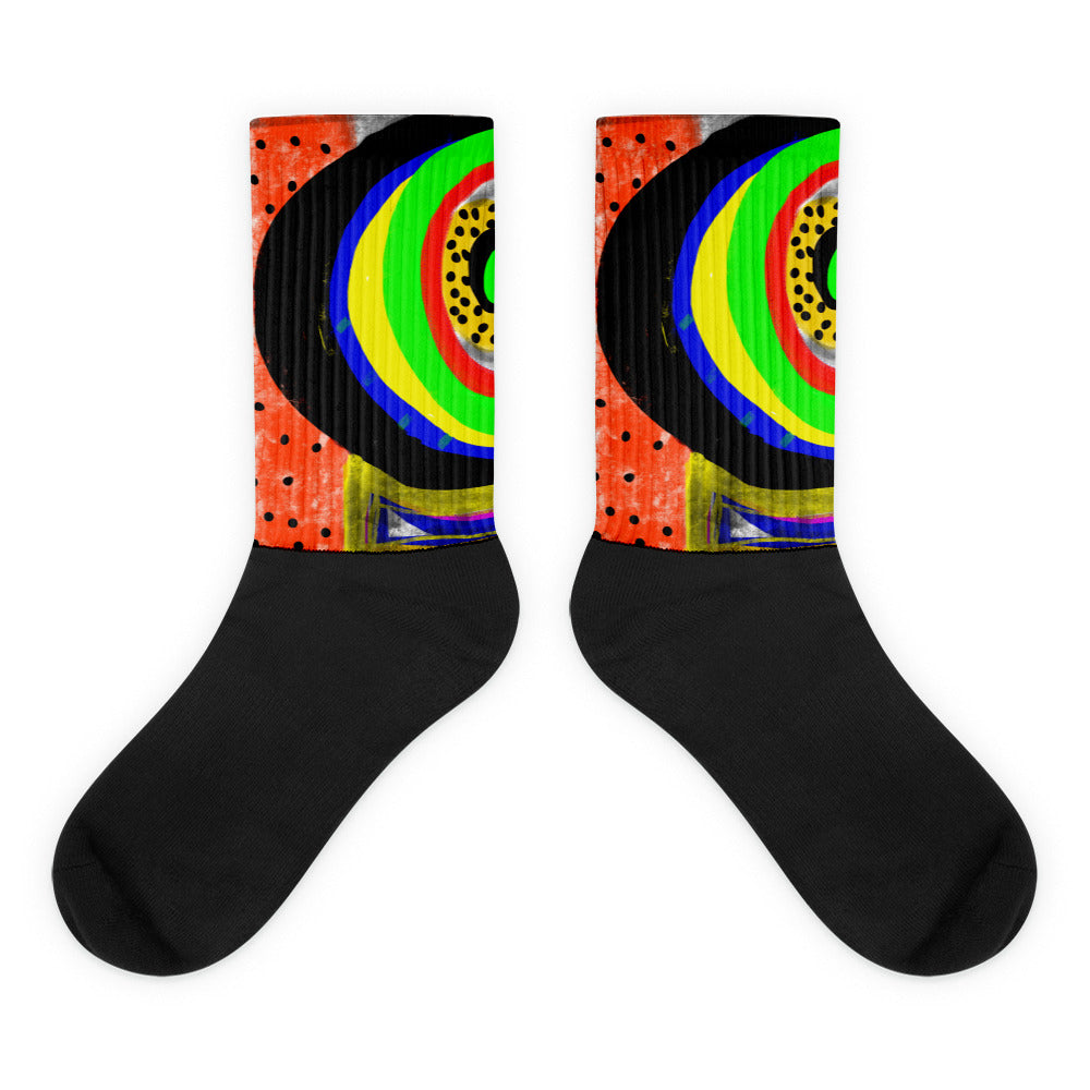 Eyecatcher Socks by Susan Fielder