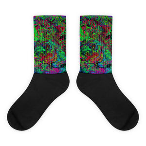Psychedelic Consciousness Socks
