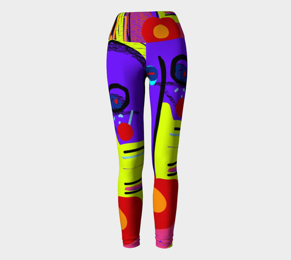The Last Lecturer Yoga Leggings in memoriam of Randy Pausch
