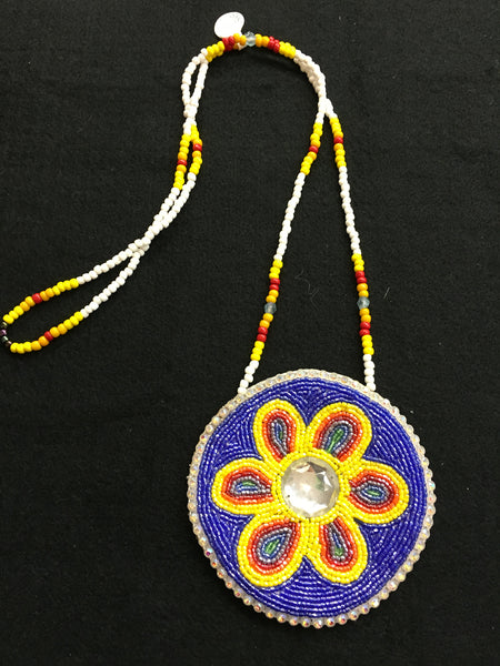 Yellow Flower Medallion
