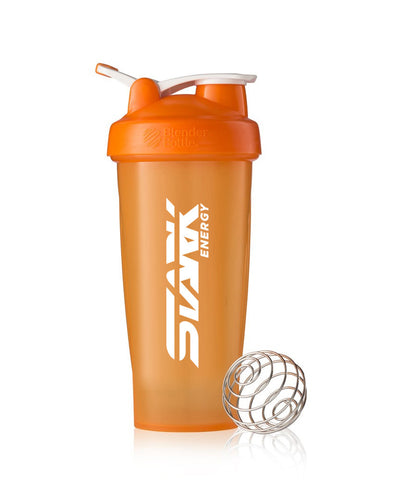 Stark Energy Orange Logo Shaker Bottle