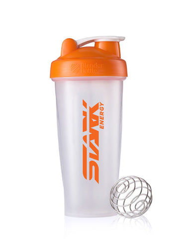 Stark Energy Clear Logo Shaker Bottle