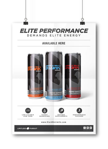 "Poster ""Elite Performance"""
