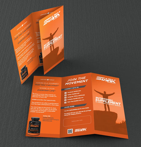 STARK Movement Trifold Brochure