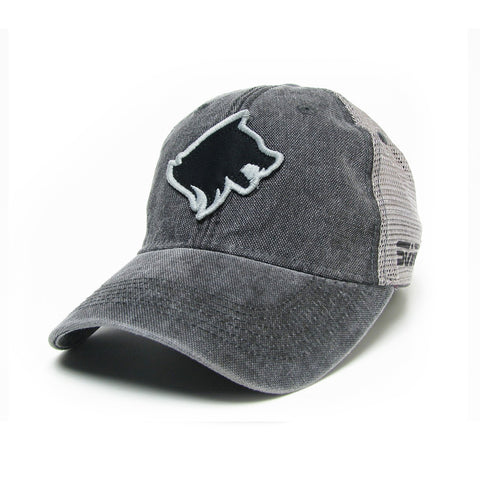 Stark Black Sheepdog 3D Patch Hat