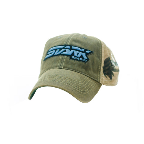 Stark Energy Green 3D Patch Hat