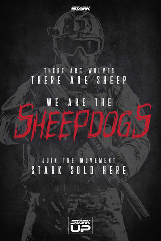 "Poster ""We Are The Sheepdogs"""