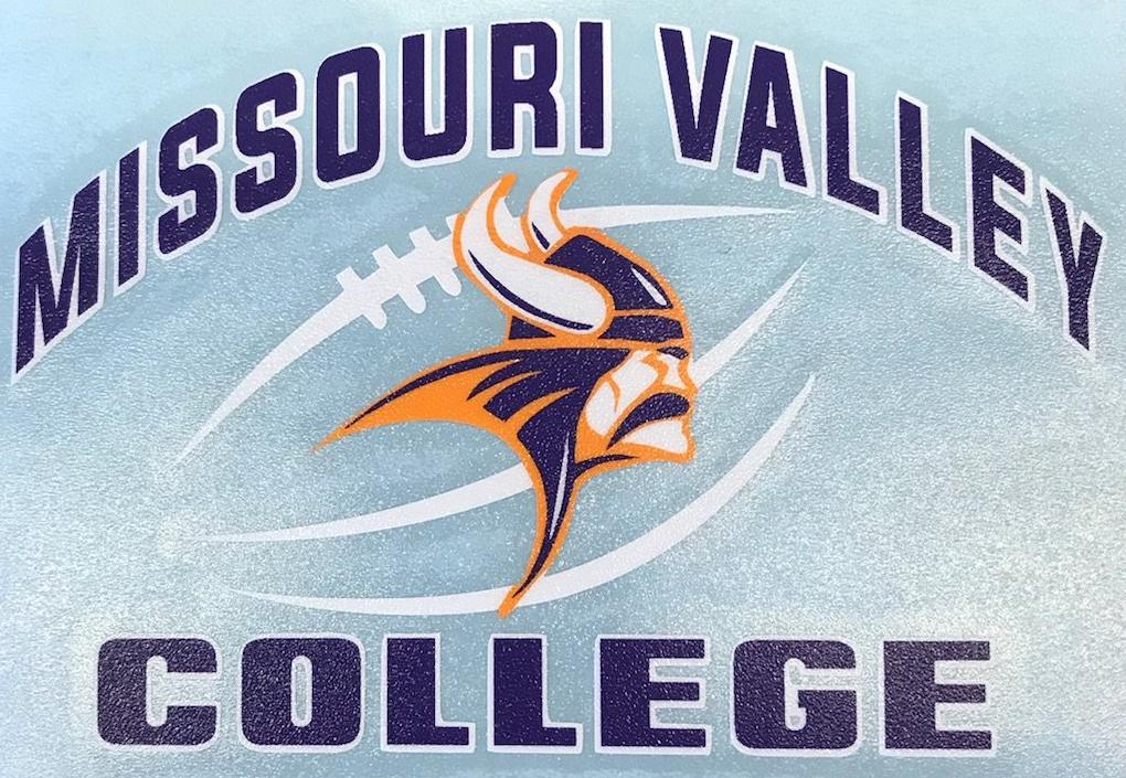 Missouri Valley Decal--Football