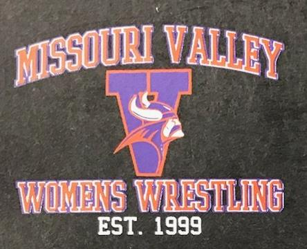 #64A Print Transfer--Left Chest Women's Wrestling
