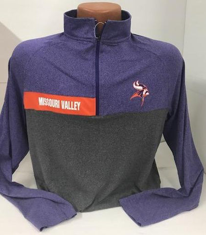 Missouri Valley Men's 1/4 Zip Colosseum Shirt