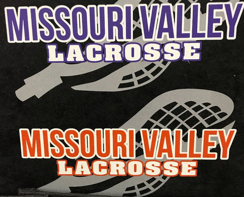 #123B-- Print Transfer--Lacrosse Orange Print