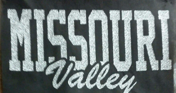 #48 Print Transfer--Missouri Valley Glitter
