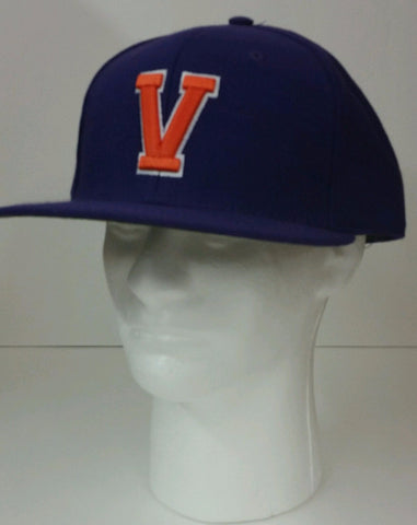 Missouri Valley Hat--Richardson Purple Sized with V Front