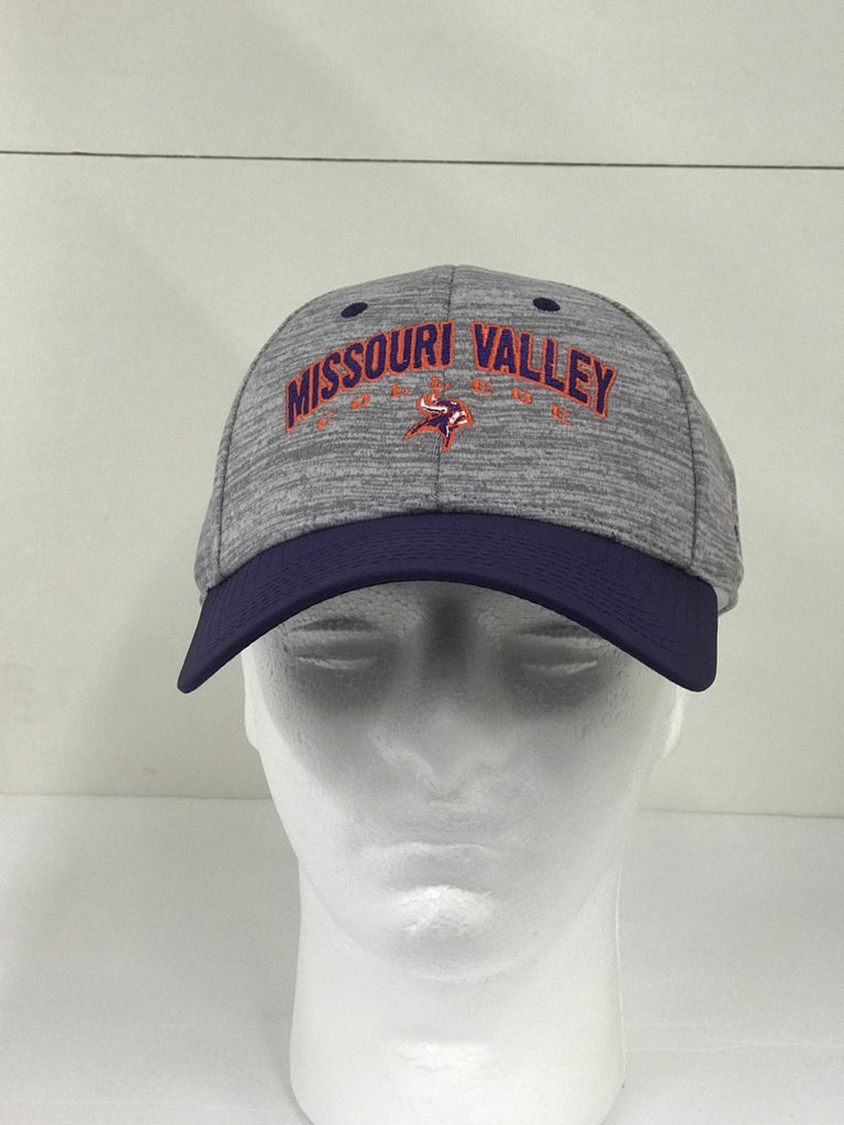 Missouri Valley Hat--The Game Valley Hat--Heather gray with Missouri Valley College