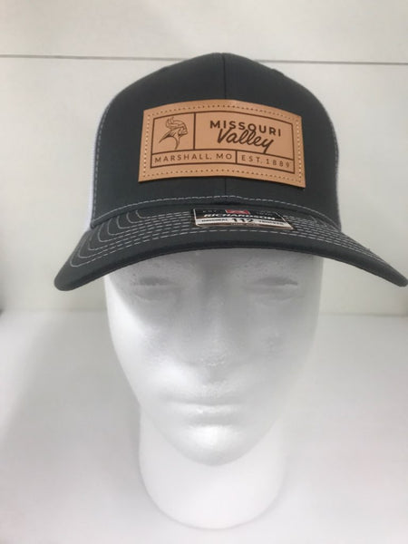 Missouri Valley Hat--Richardson snap back with Leather Patch