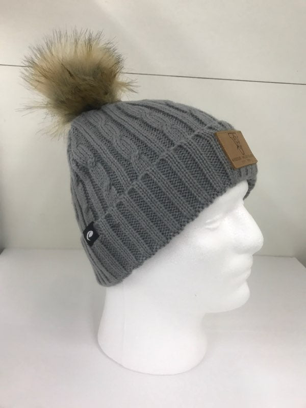 Missouri Valley Hat--Pukka Beanie with Leather Patch