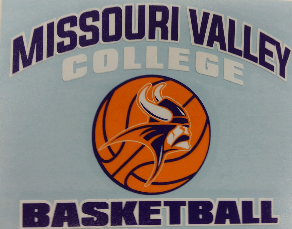 Missouri Valley Decal--Basketball