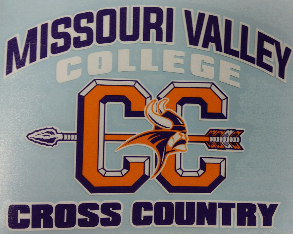 Missouri Valley Decal--Cross Country