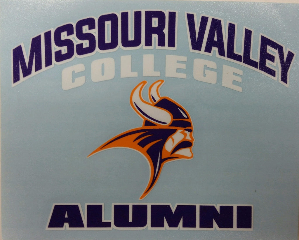 Missouri Valley Decal--Alumni