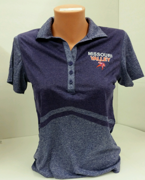 Missouri Valley Ladies Polo--Holloway with Missouri Valley