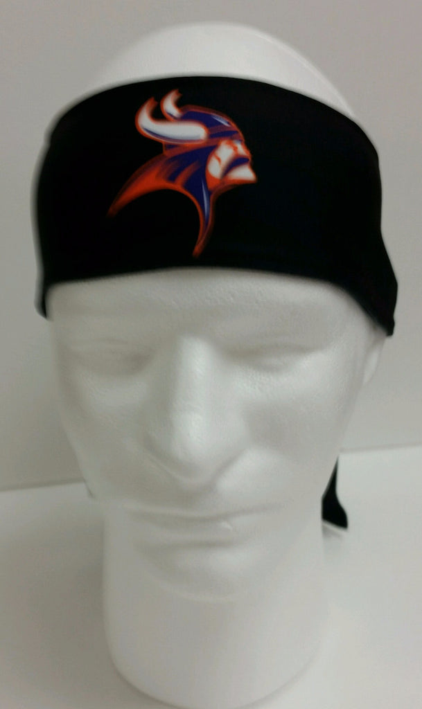Missouri Valley Viking Head Headband
