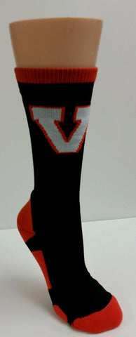 TCK Missouri Valley Sock With V