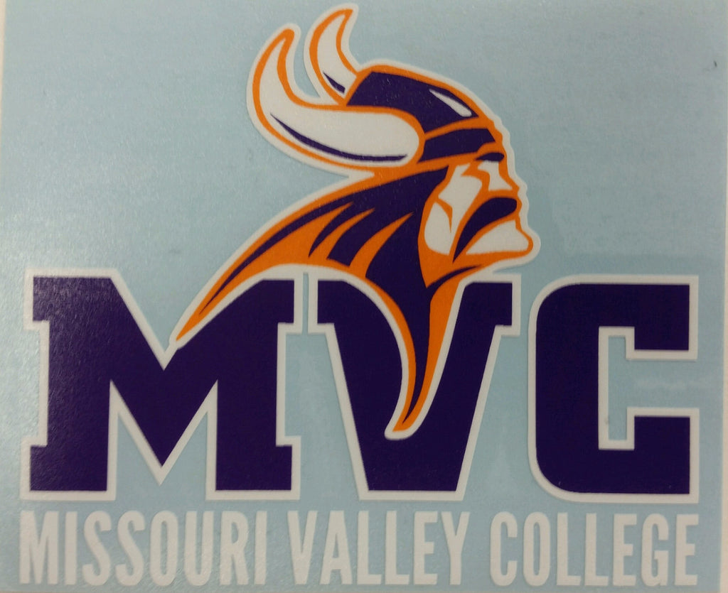 Missouri Valley Decal--Missouri Valley College