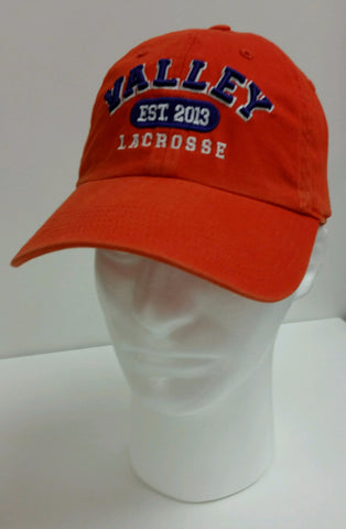 Missouri Valley Hat--Richardson Orange with Valley Lacrosse