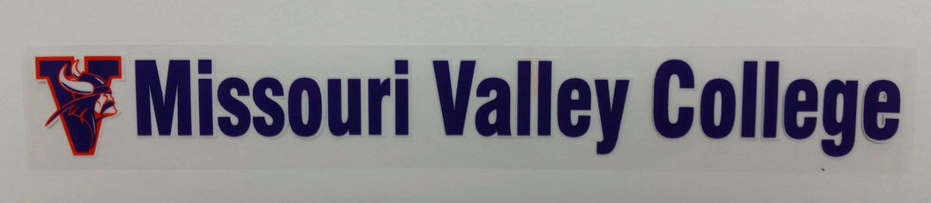 Missouri Valley Decal--Bumper Sticker