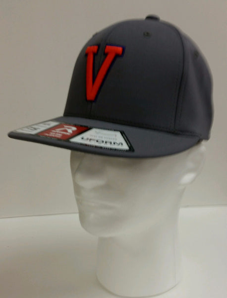 Missouri Valley Hat--Richardson Grey with V