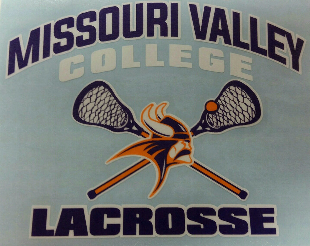 Missouri Valley Decal--Lacrosse