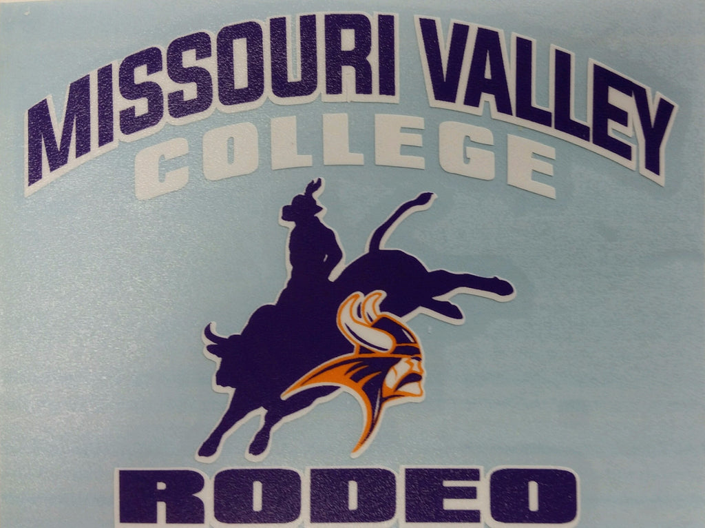 Missouri Valley Decal--Rodeo