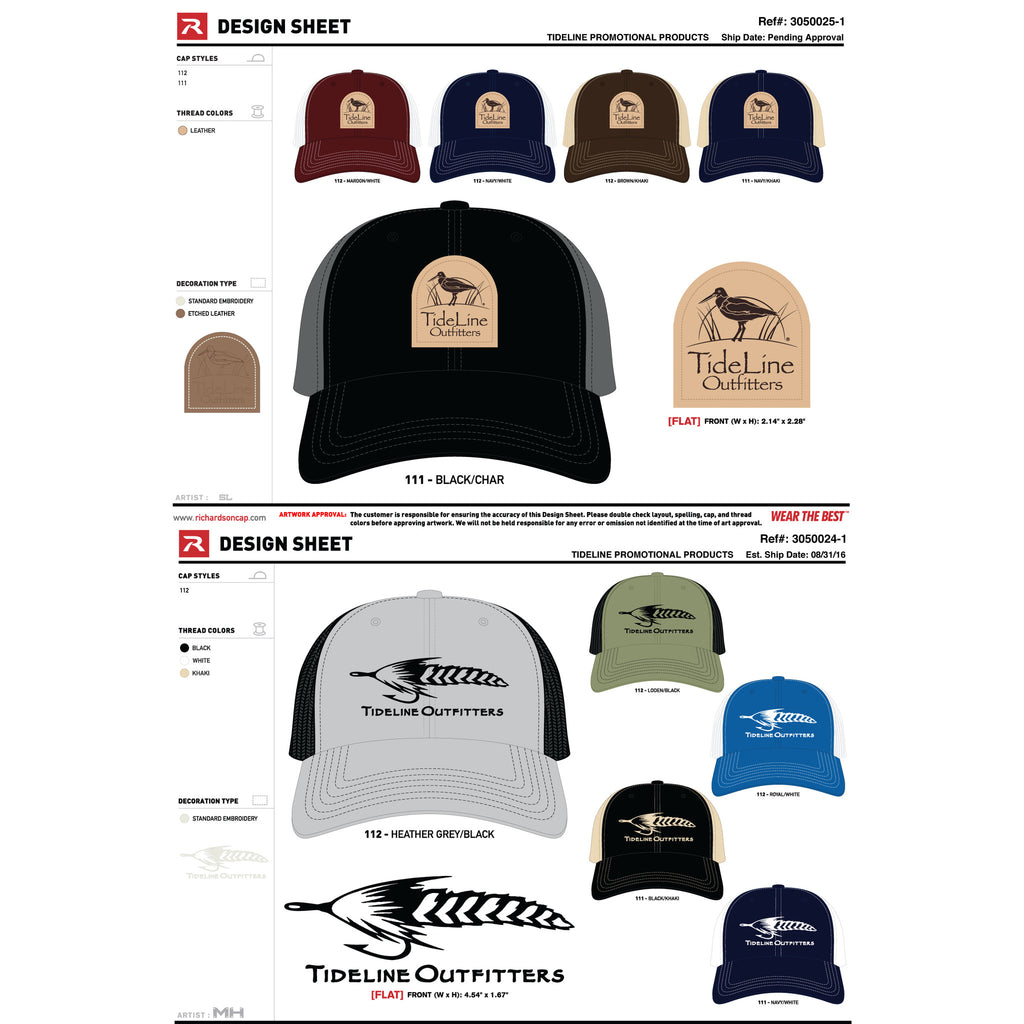 New Richardson Caps coming soon.
