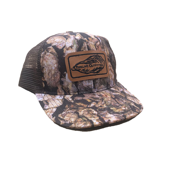 Shucker Trucker Leather Patch