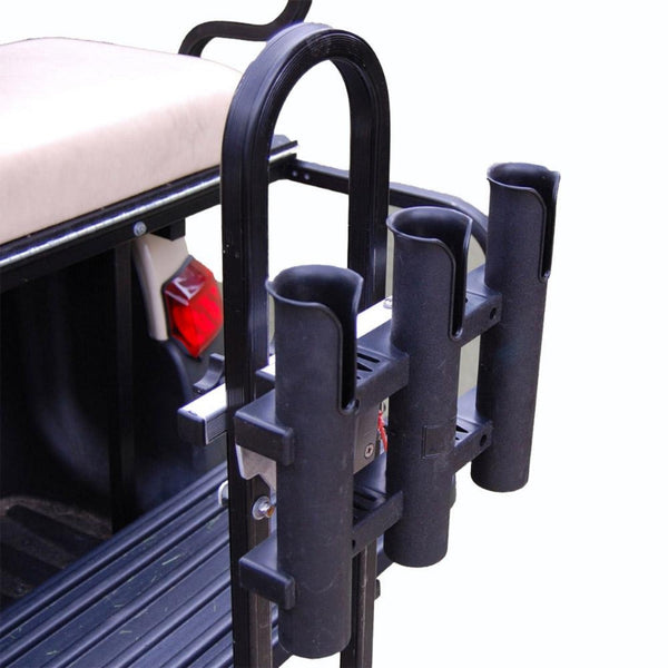 GOLF CART ROD HOLDER