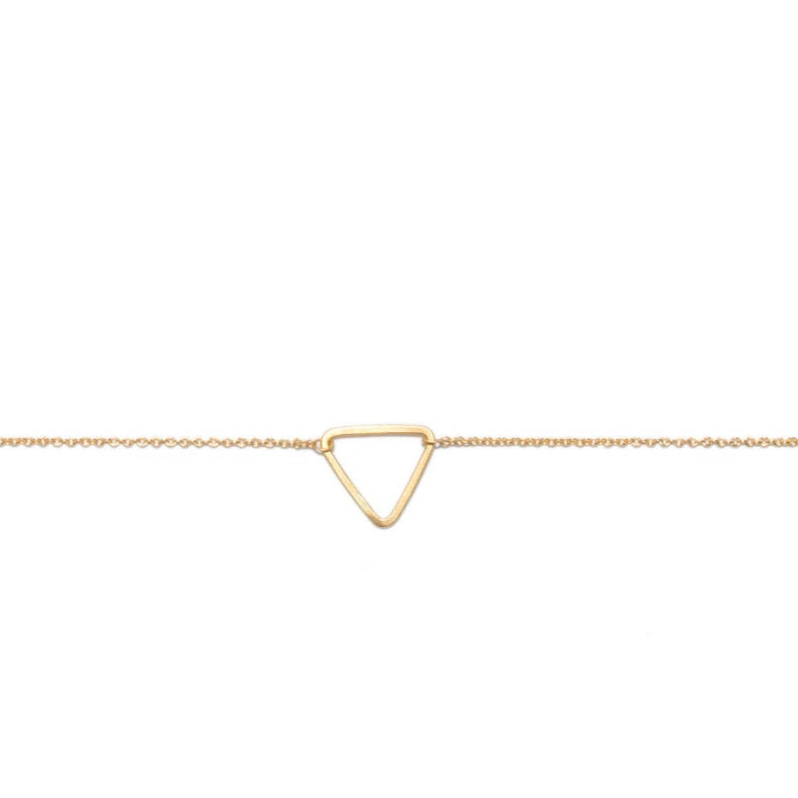 <!--BR553-->mini triangle bracelet