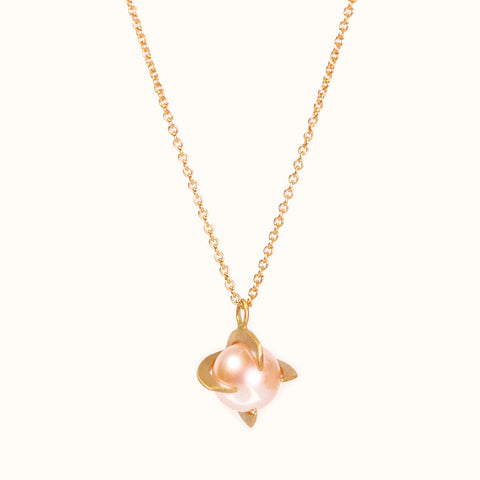 <!--NK908-->pearl shard necklace