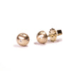 <!--ER581dia-->diamond medium bubble stud earrings