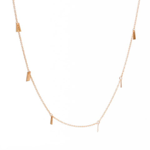 <!--NK807-->flutter XL strand necklace