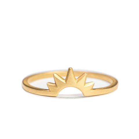 <!--RG595-->sunburst ring