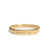 <!--RG515-->small bridge wedding band with engraving