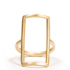 <!--RG338-->open rectangle ring